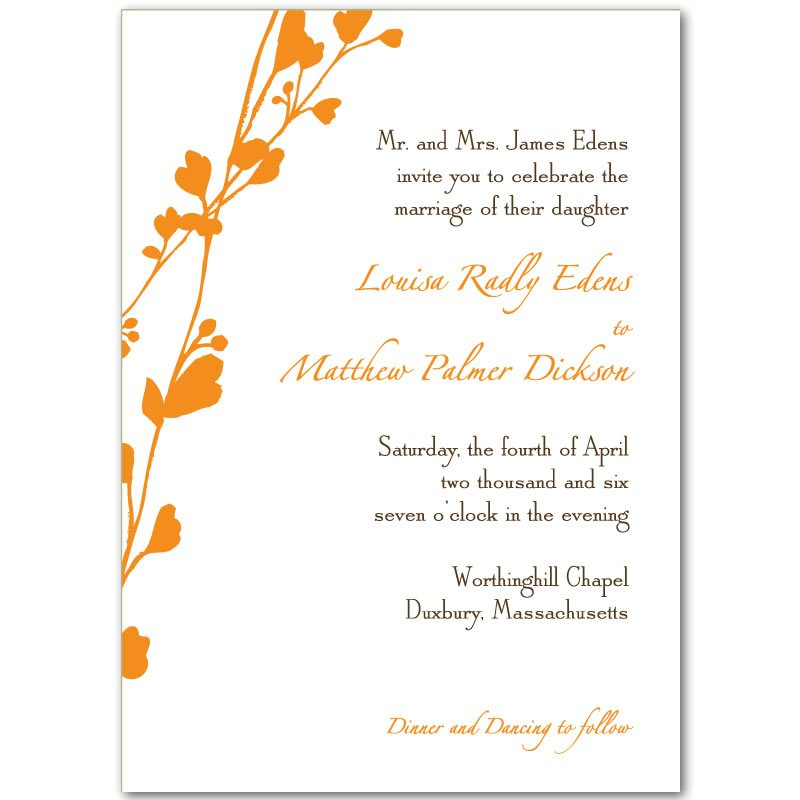 Printable Wedding Invitations Free