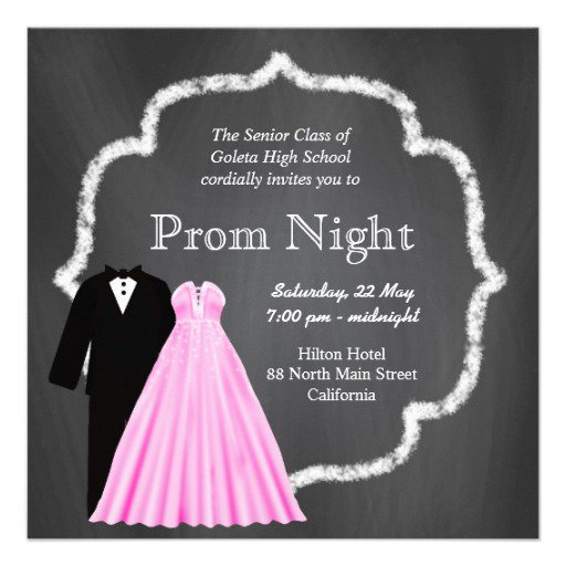 Prom Invitations