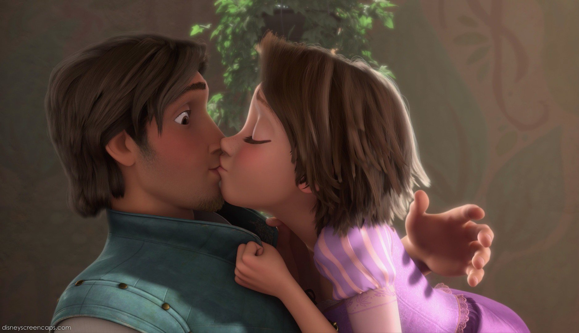 Rapunzel And Flynn Tangled