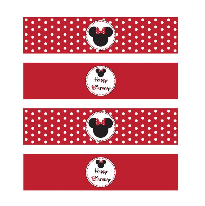 Red Minnie Mouse Birthday Invitations Free Printables