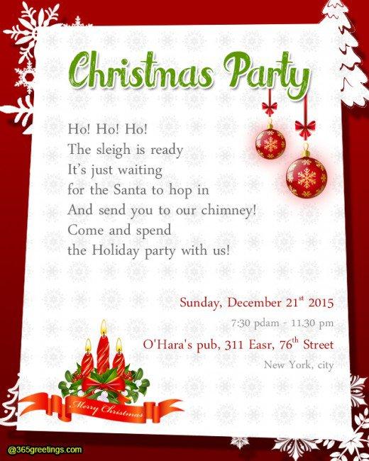 Religious Christmas Invitation Templates