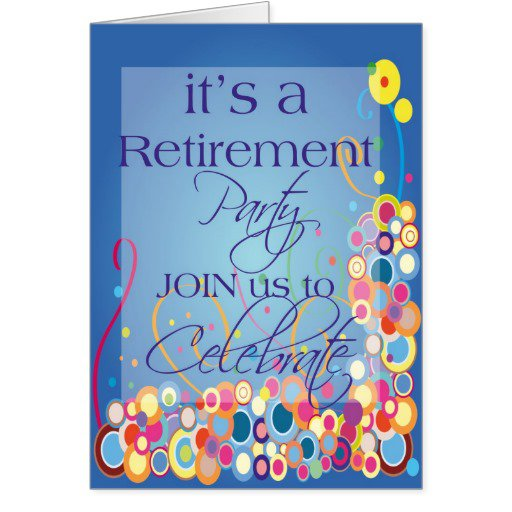 Retirement Celebration Invitation Templates – Retirement Party Invitation Template Free