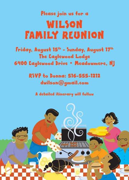Reunion Party Invitation