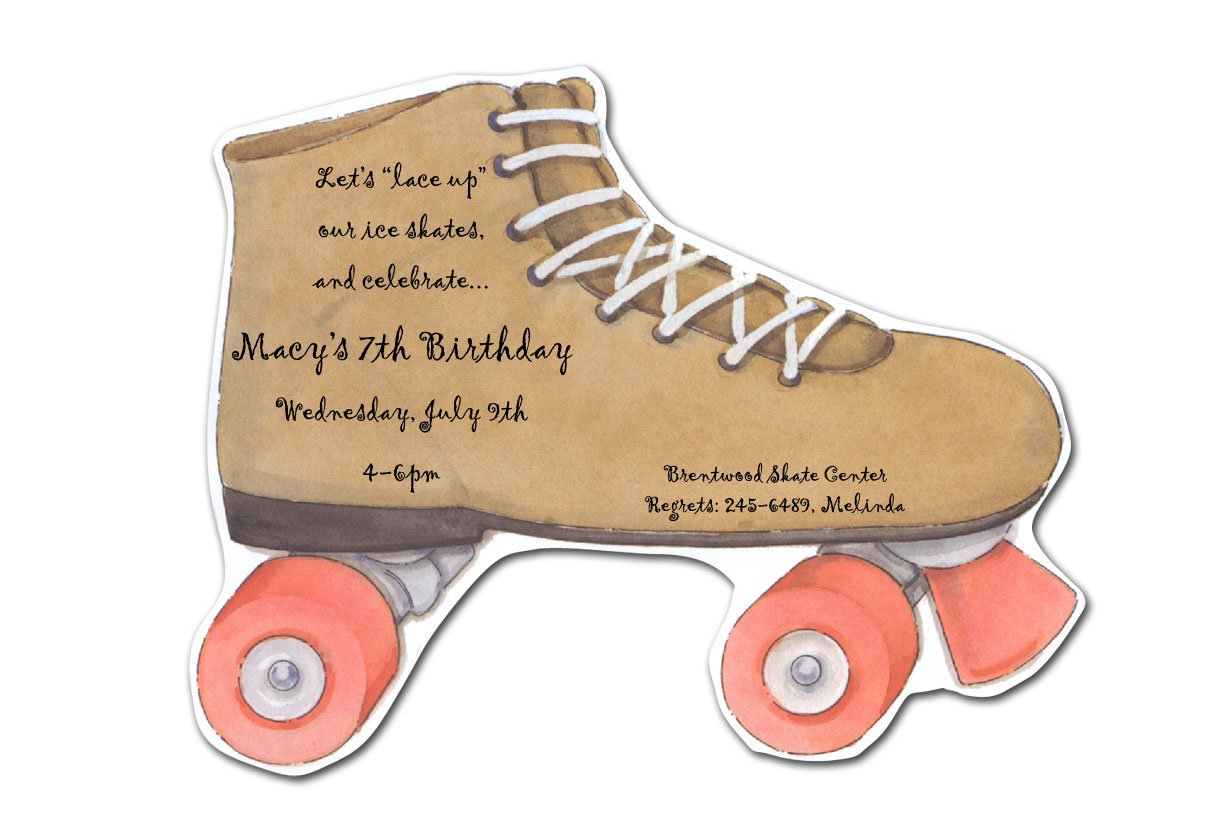 Roller Skating Birthday Invitations Printable – Free Printable Roller Skating Party Invitations