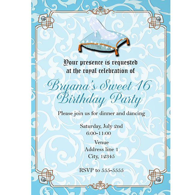 Royal Event Invitation Wording