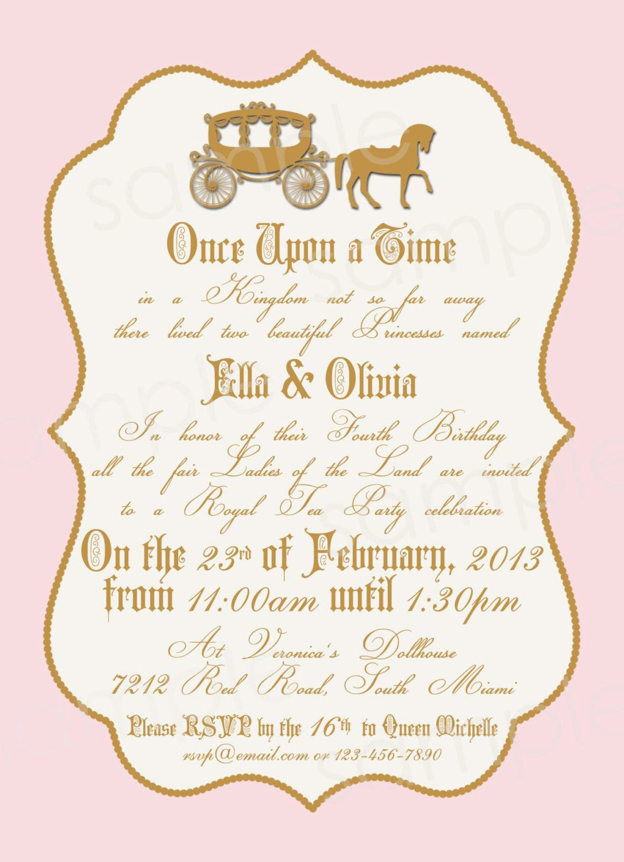 royal invitation templates blank