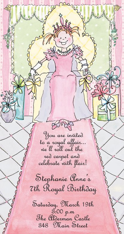 Royal Invitation Wording