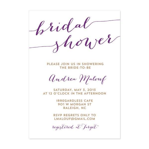 Rustic Bridal Shower Invitations Free