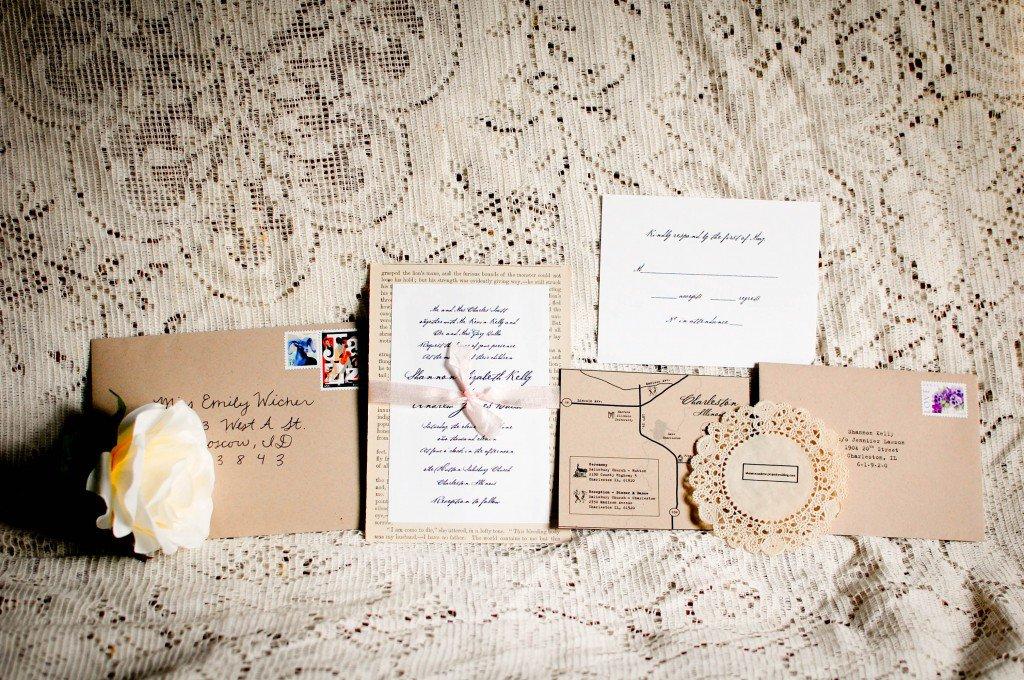 Rustic Chic Wedding Invitations Diy