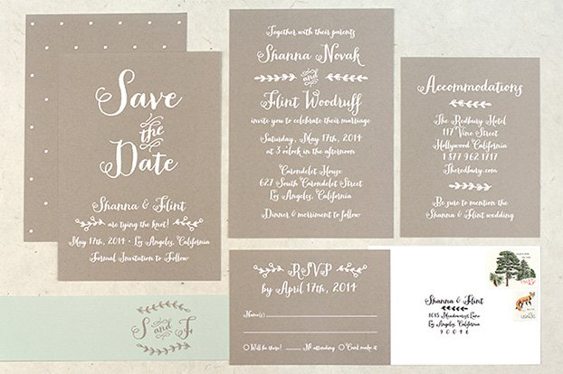 Rustic Country Wedding Invitations Uk