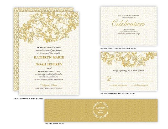 Rustic Wedding Invitation Printables