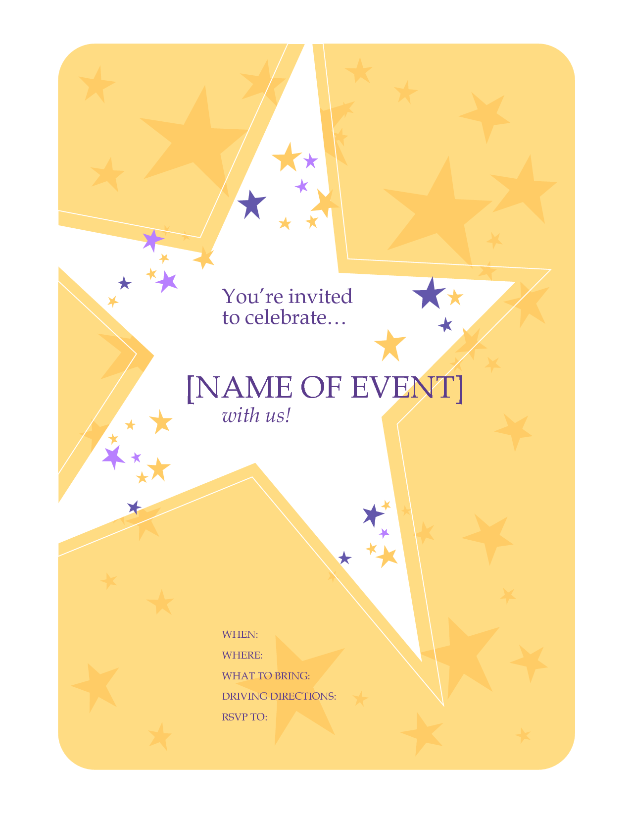 New Year Party Invitation Sample is amazing invitation layout
