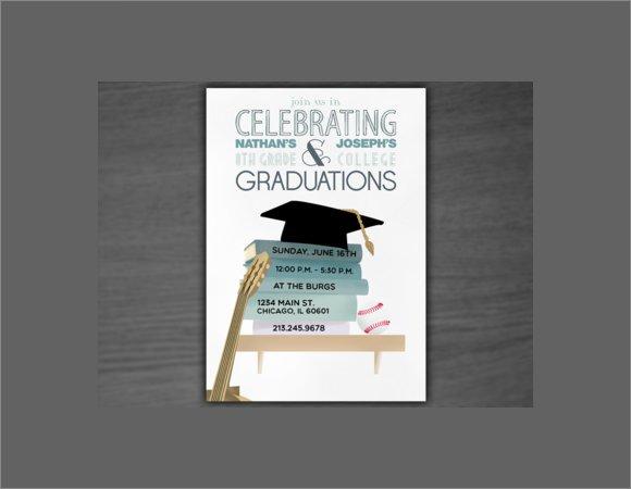 Sample Graduation Party Invitations