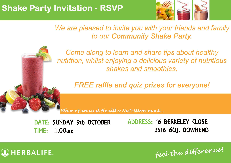 Sample Of Flyer Invitation