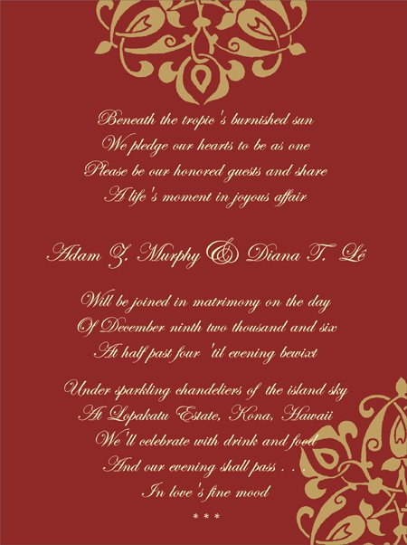 Sample Religious Invitation Cards
