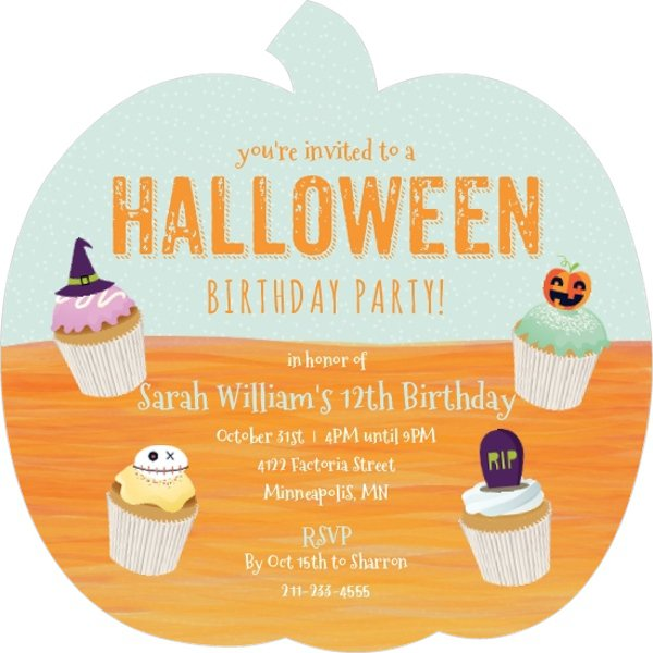 Scary Halloween Party Invitation Ideas