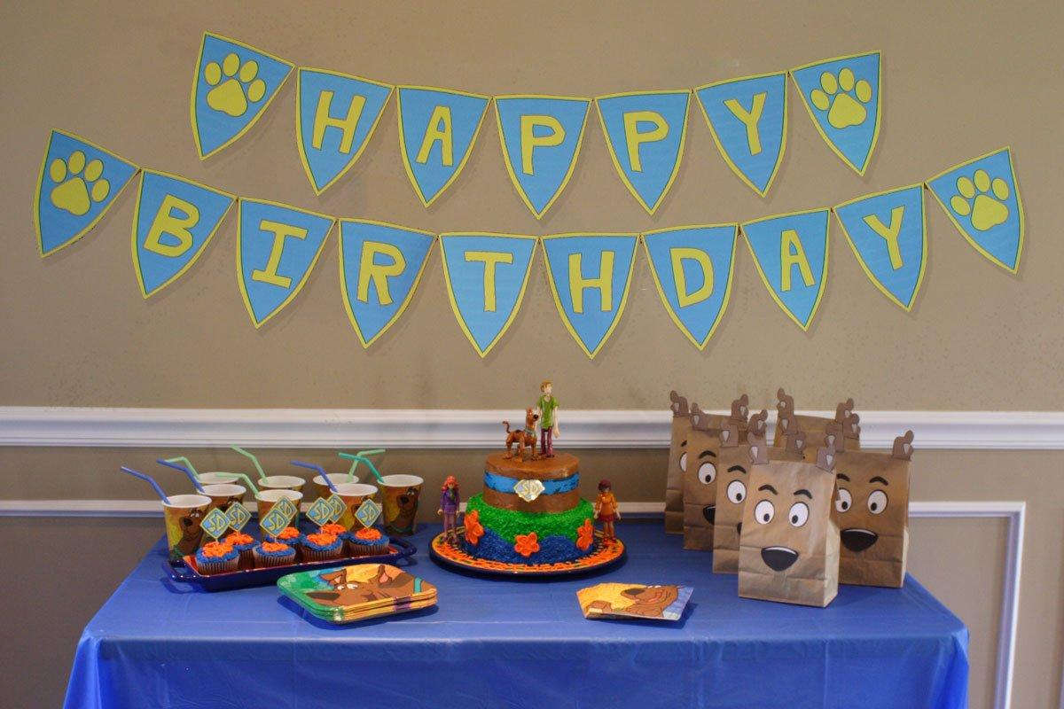 Scooby Doo Birthday Party