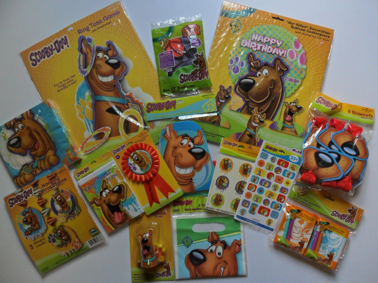Scooby Doo Birthday Party Supplies