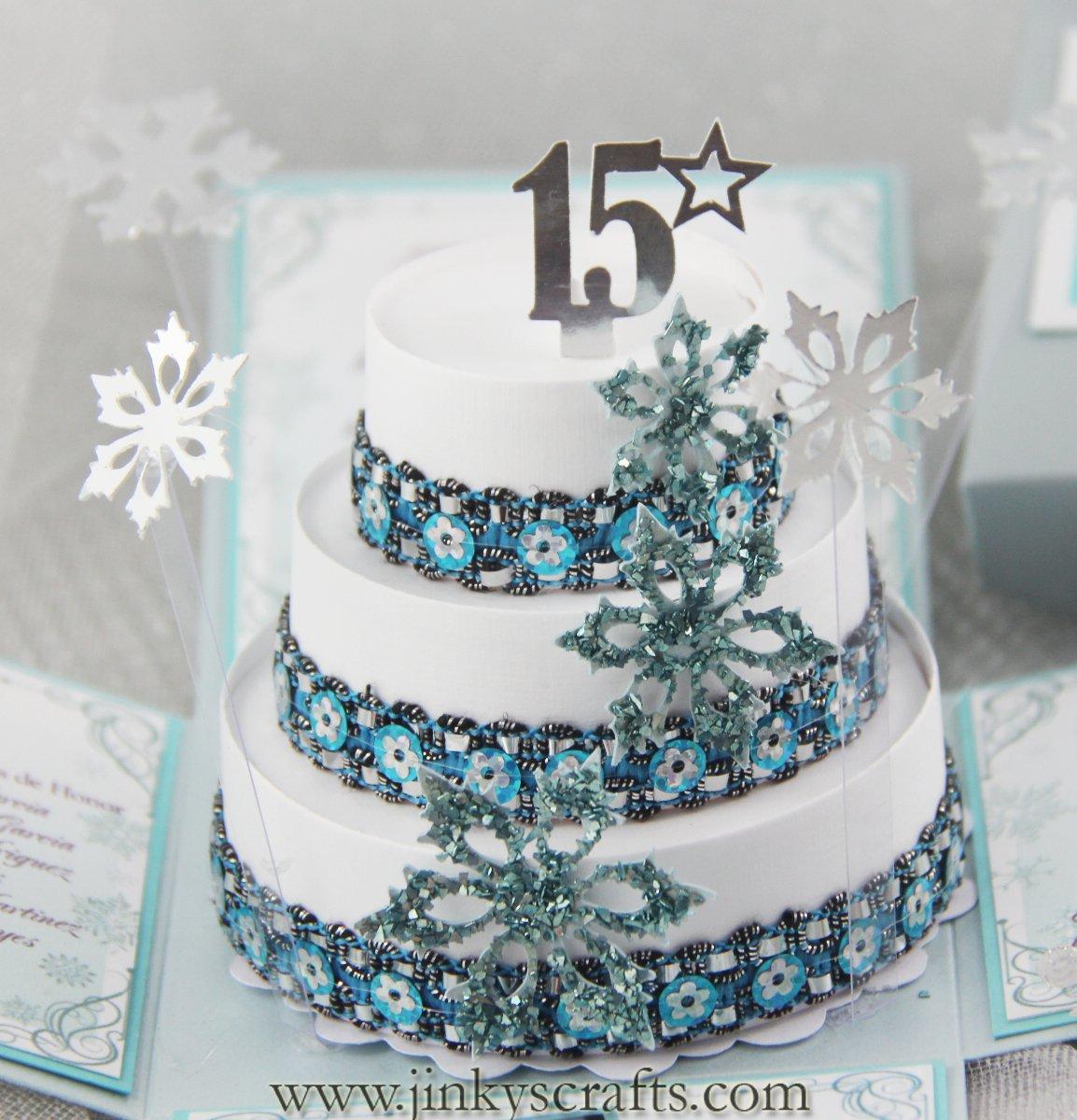 Snowflake Invitations Birthday