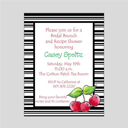 Southern Tea Party Invitation Wording
