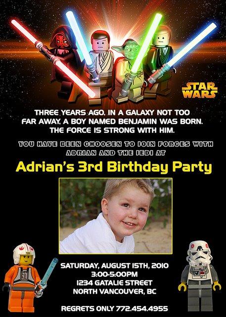 Star Wars Birthday Invitations Walmart