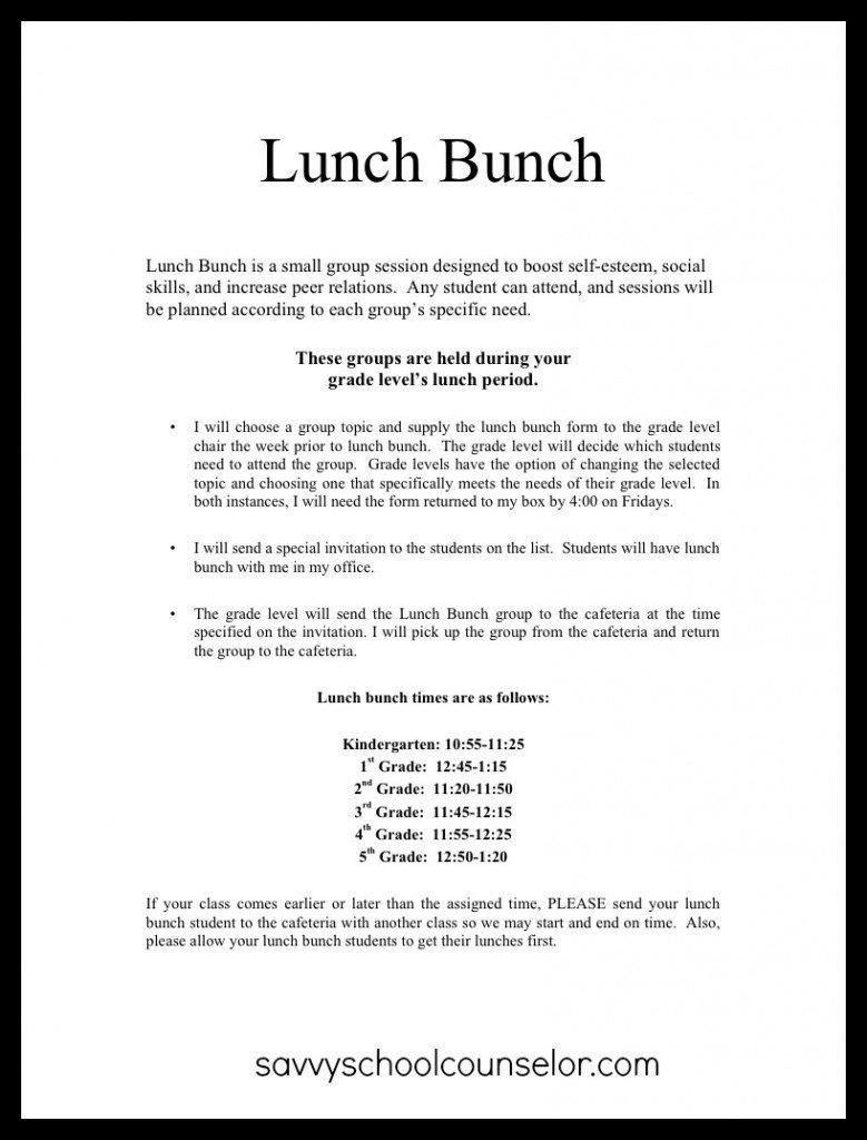 Student Luncheon Invitation Templates