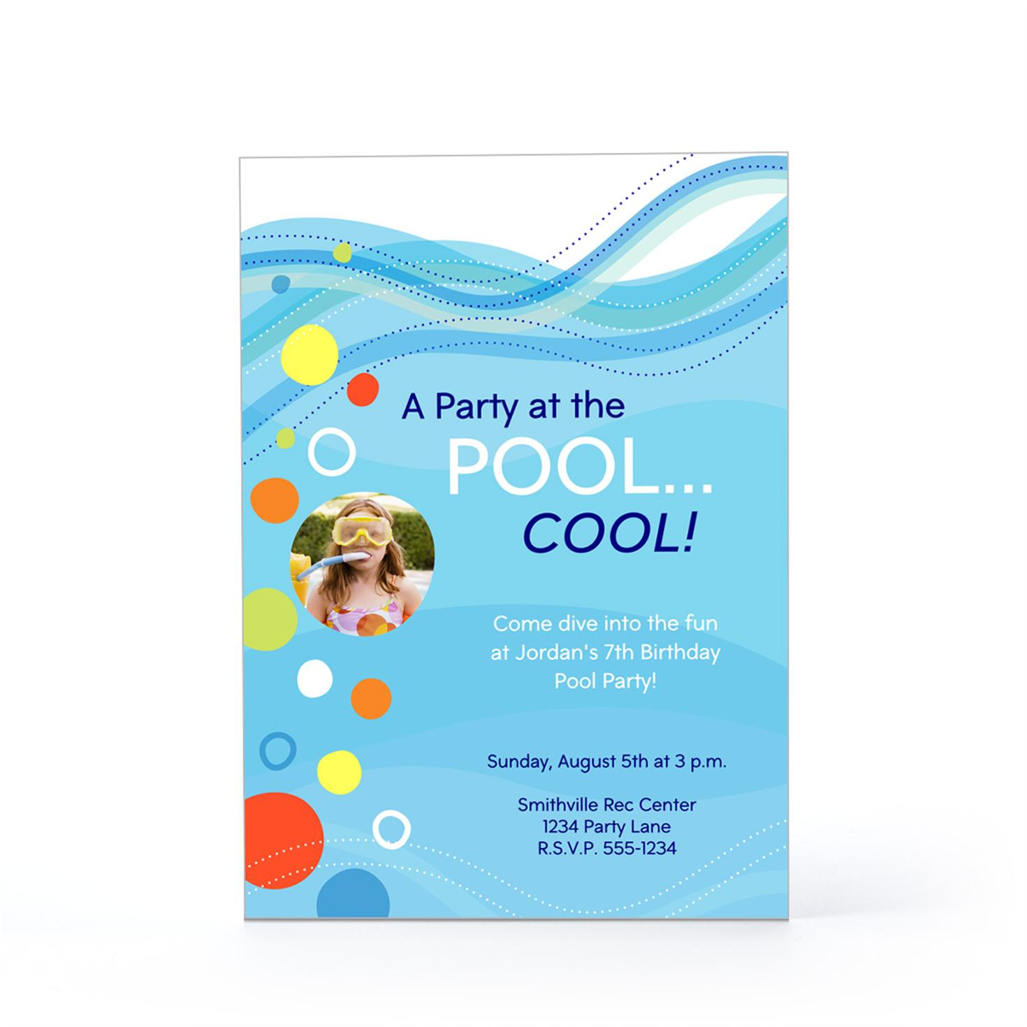 baby shower pool party invitation wording pool party birthday swimming pool party invitations wording