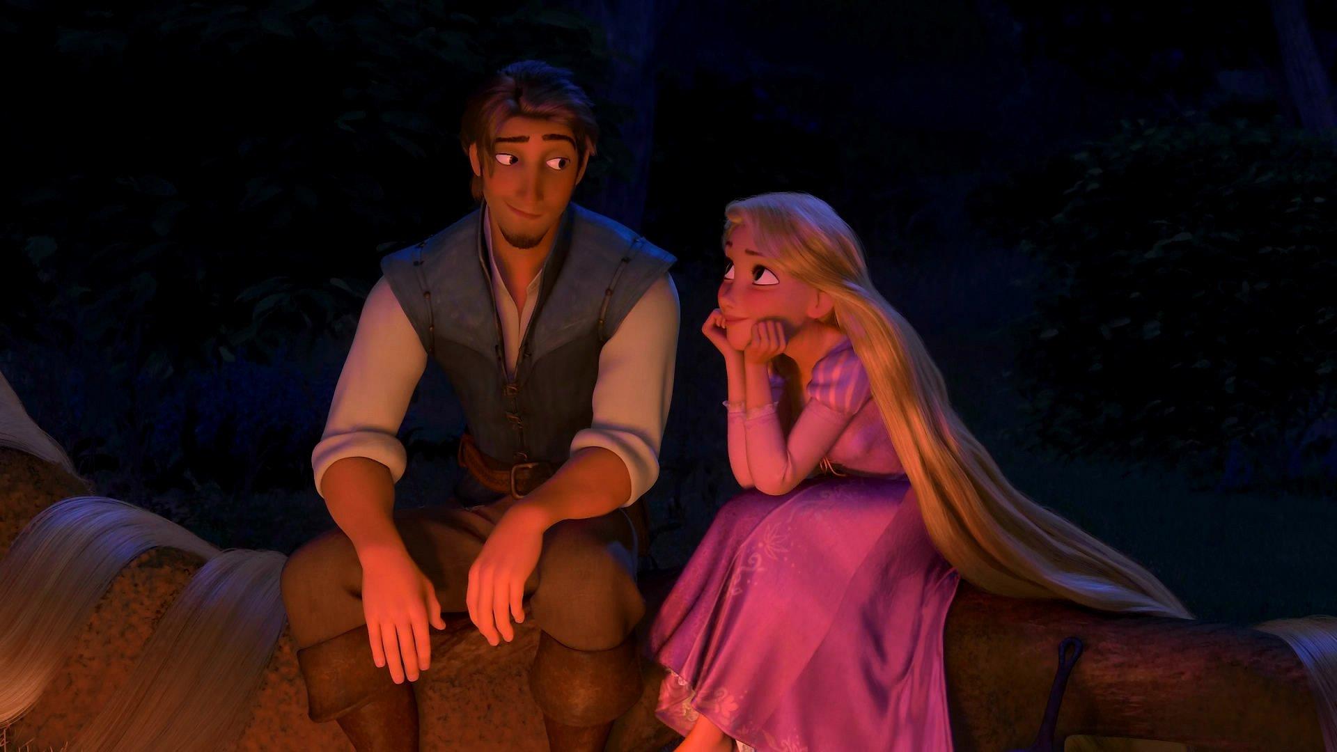 Tangled Rapunzel And Flynn Rider