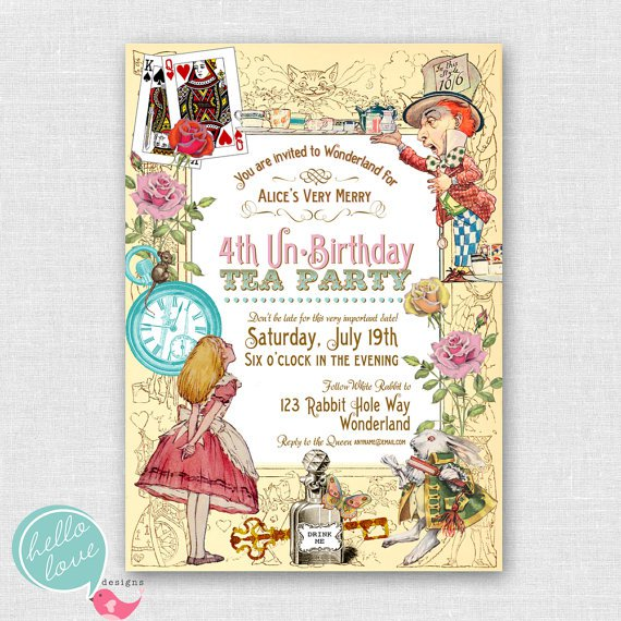 Tea Party Invitations Target