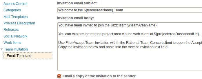 Team Lunch Invitation Mail