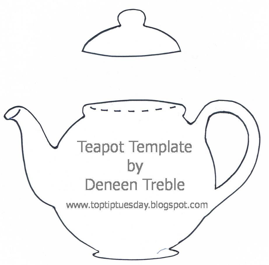 Teapot Invitations Printable