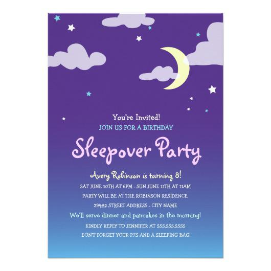 teen bonfire party invitation - Bonfire Party Invitations