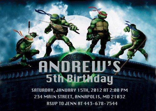 Teenage Party Invitation Ideas