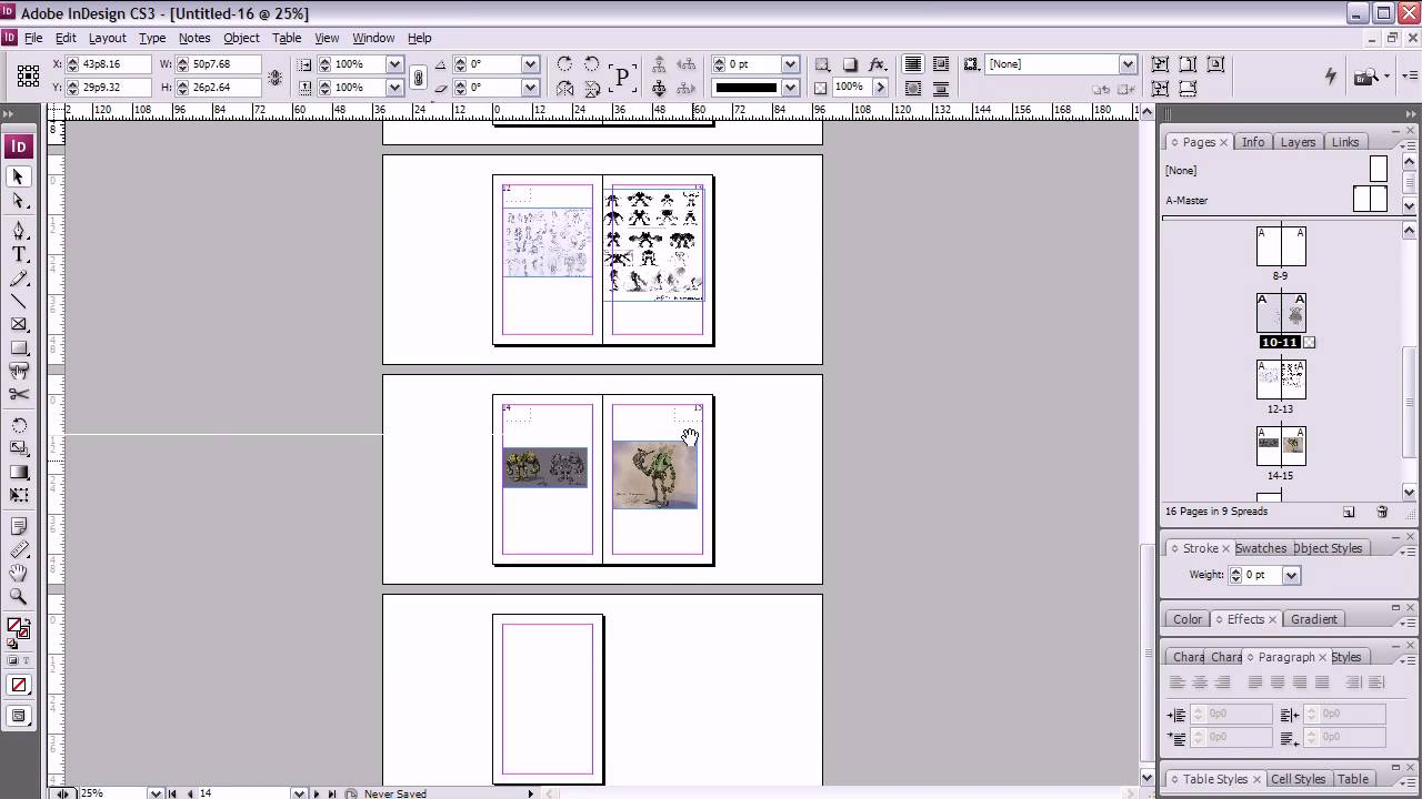 Template For Creating Booklet