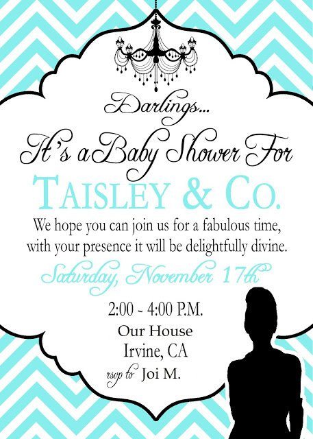 Tiffany Invitation Template