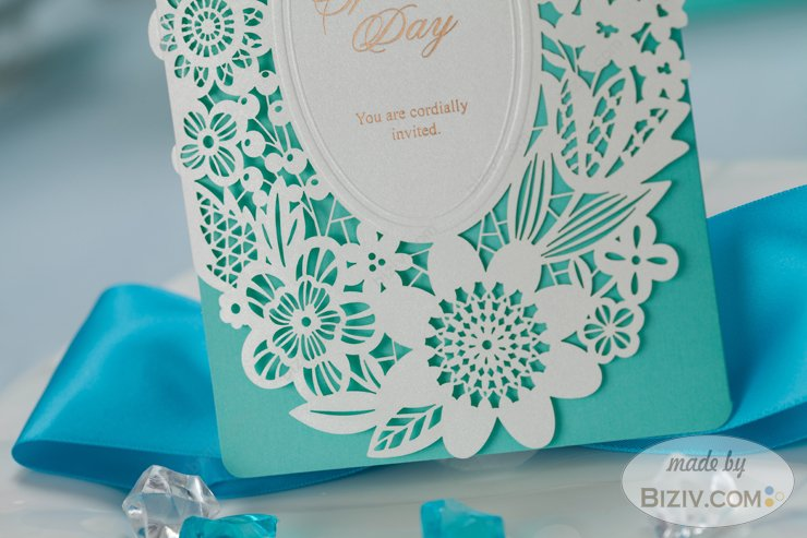 Tiffany Wedding Invitation Samples