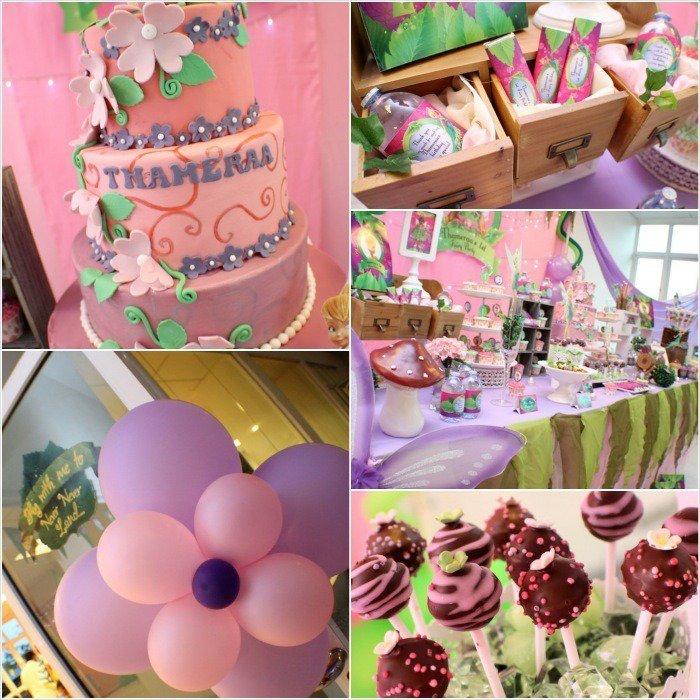 Tinkerbell 1st Birthday Invitations