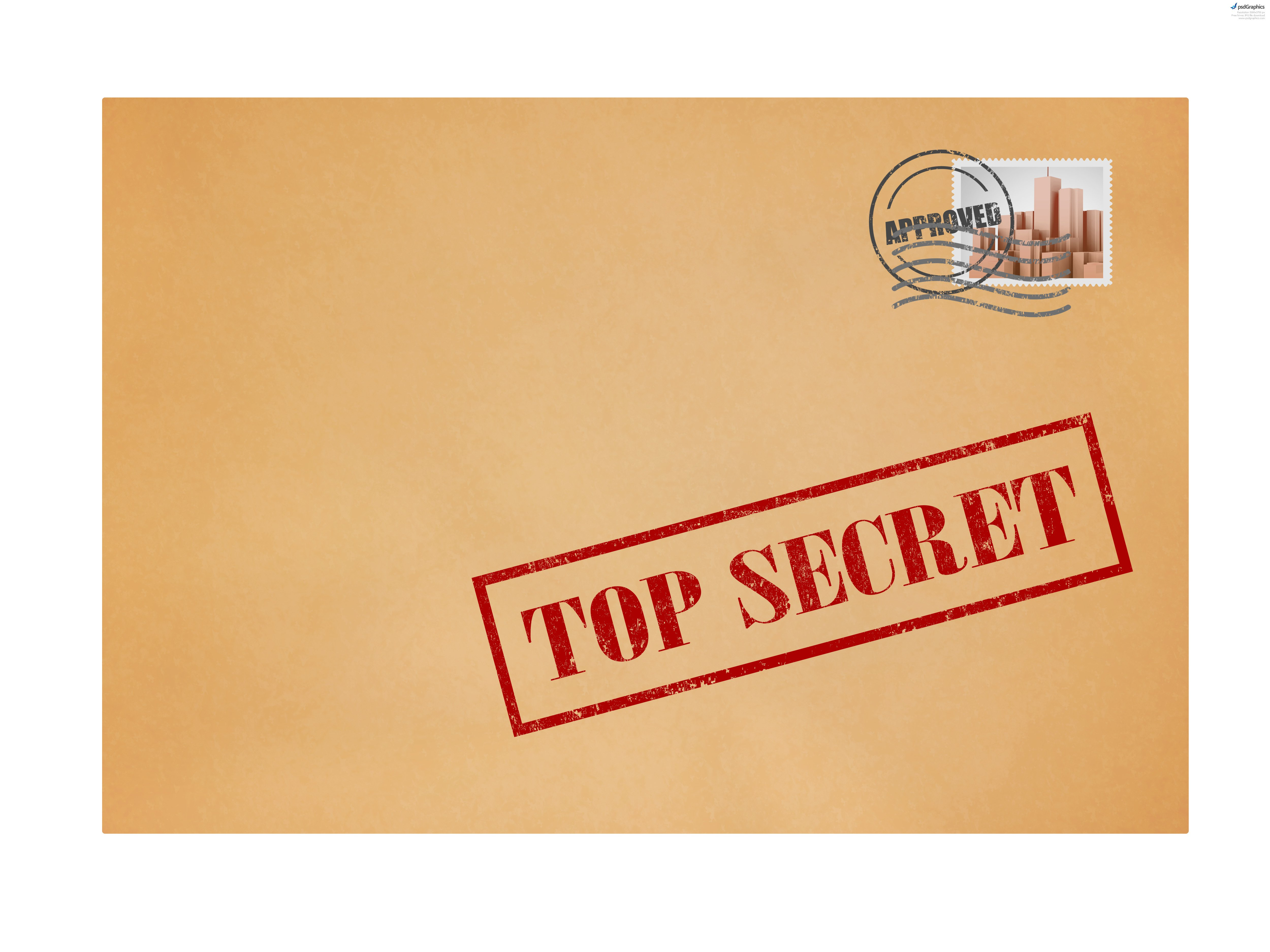 Top Secret Invitation Templates
