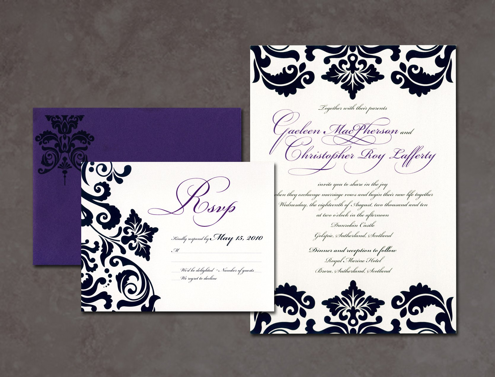 Wedding Invitation Templates – Classic Wedding Invitation Designs