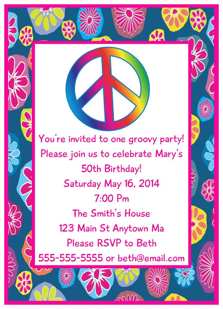 Tween Birthday Party Invitations Free