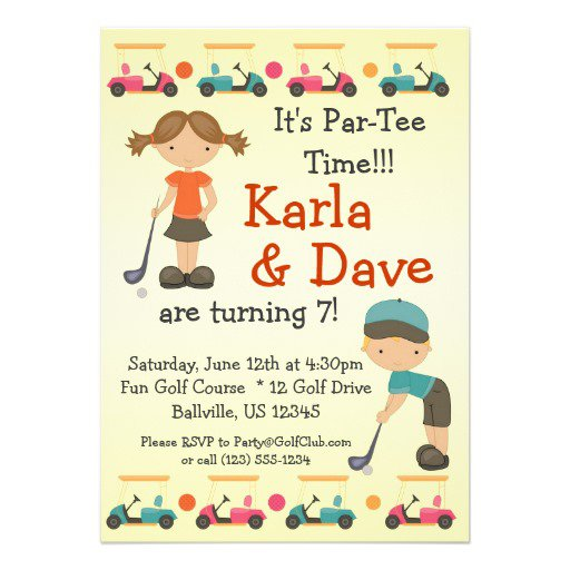 Twins Birthday Party Invitations Uk