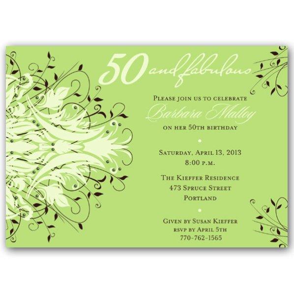 Unique Birthday Invitations For Women