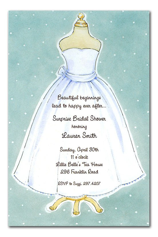 Cute Bridal Shower Invitation Wording