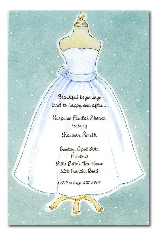 Unique Bridal Shower Invitation Wording
