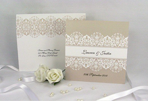 Unique Classy Wedding Invitations