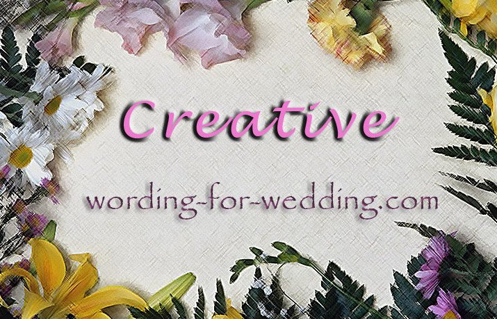 Wedding Invitation Text Ideas: Unique Wedding Invitation Wording