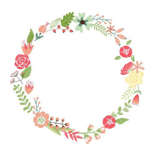 Vintage Flower Birthday Invitations Templates
