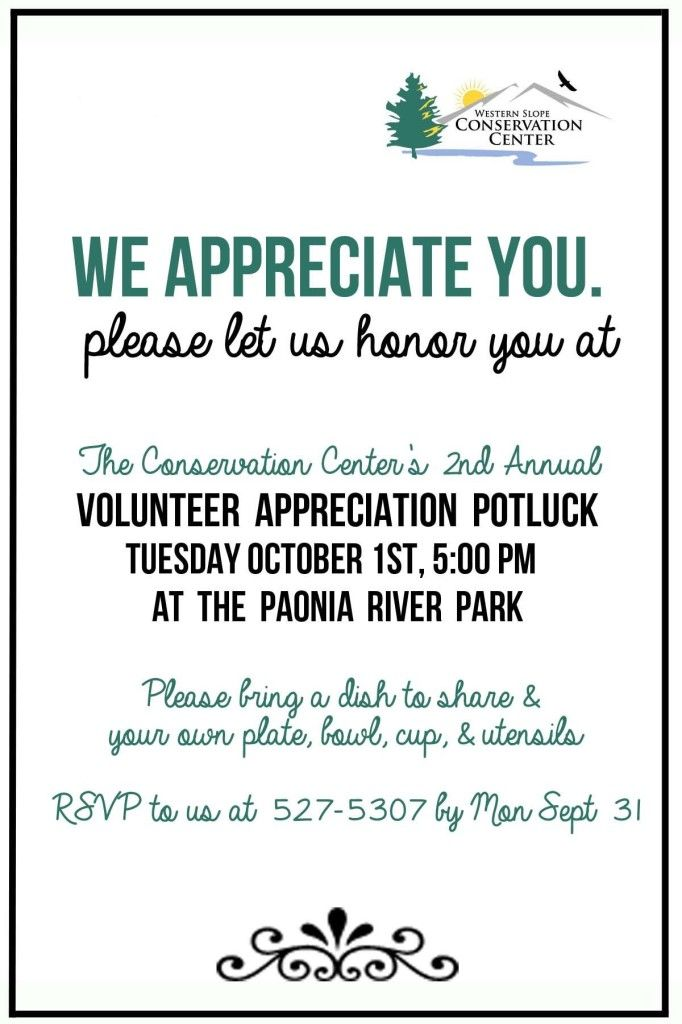 Volunteer Luncheon Invitation Templates