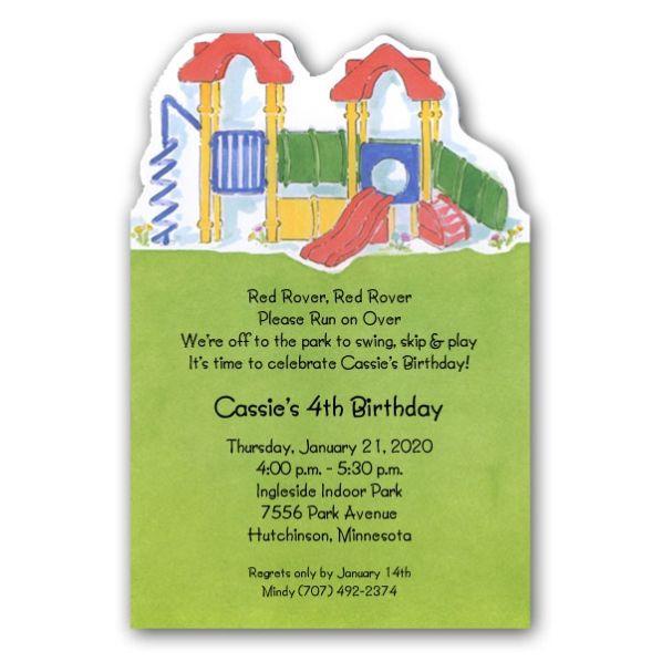 Water Park Birthday Invitation Templates