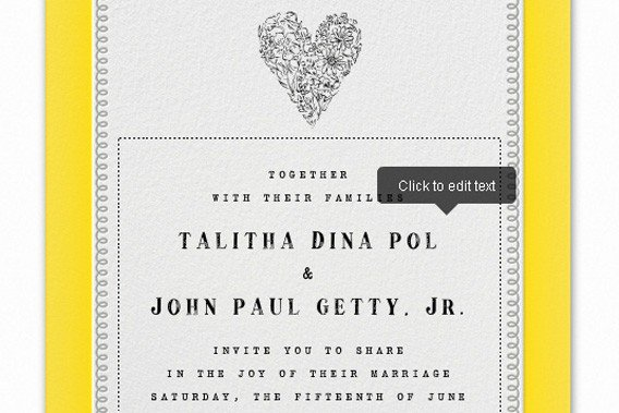 We Got Married Reception Invitations